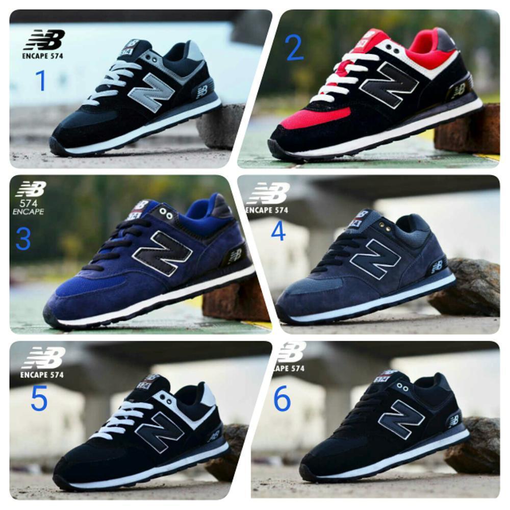 Promo Sepatu NB Pria Casual Sport Sneakers Olahraga Ori Vietnam 574 Encap Man Fashion