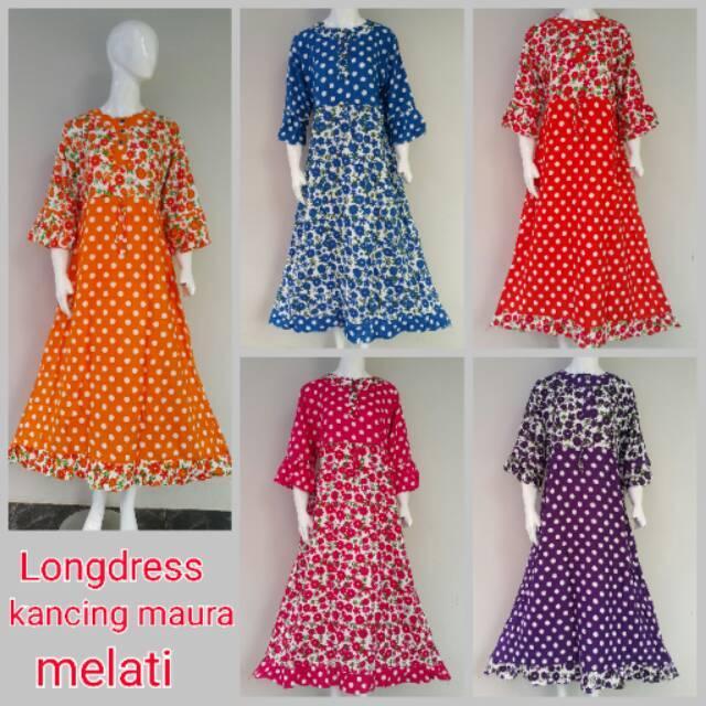 Gamis melati Daster baju grosir murah baju wanita kekinian baju cewek tanah abang dress wanita harga seri 5 warna