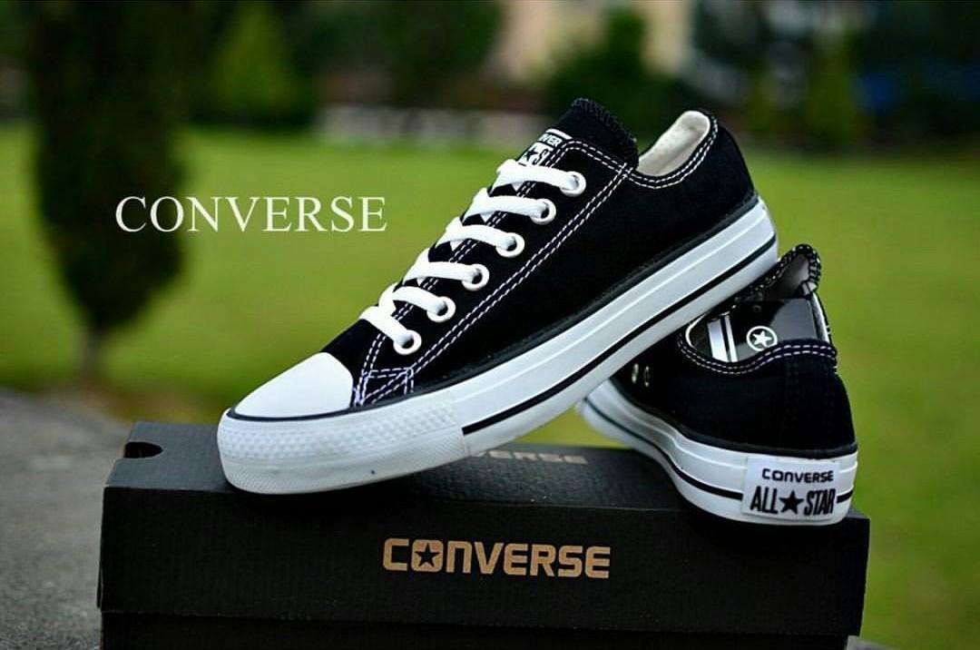 d0e6f76e8356 Sepatu casual converse all star navy canvas-sepatu sekolah-sepatu  sneakersIDR75000. Rp 75.000
