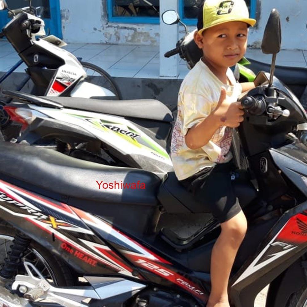 Supra X 125 Kursi Jok Tambahan Boncengan Motor Anak Murah Berkaulitas Lazada Indonesia