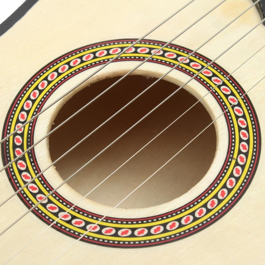 21 inch 6 String Beginners Practice Acoustic Basswood Guitar Musical Instrument - intl .