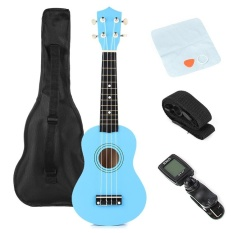 21' Traditional Pro Ukulele Beginners Start Pack with Gig bag, Tuner, Strings - intl
