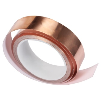 "36 yd length Roll 3M 1125 Copper Foil Tape with Acrylic Adhesive 1/"" width"