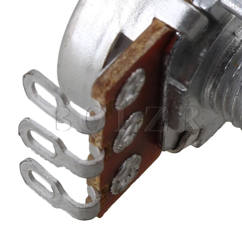 A500k 15 mm Mini Pot poros potensiometer nada gitar elektrik Set 10 .