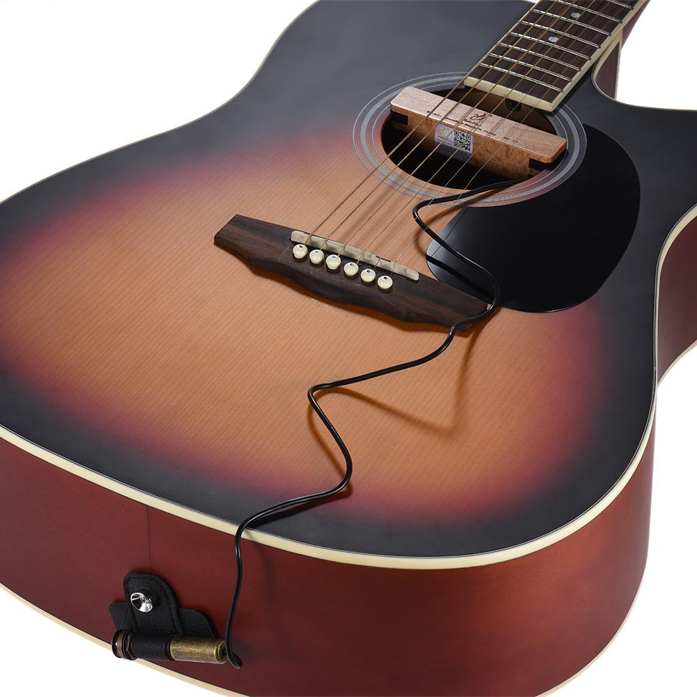 Adeline AD-33 Exquisite Solid Wood Passive Magnetic Soundhole Pickup with Copper .