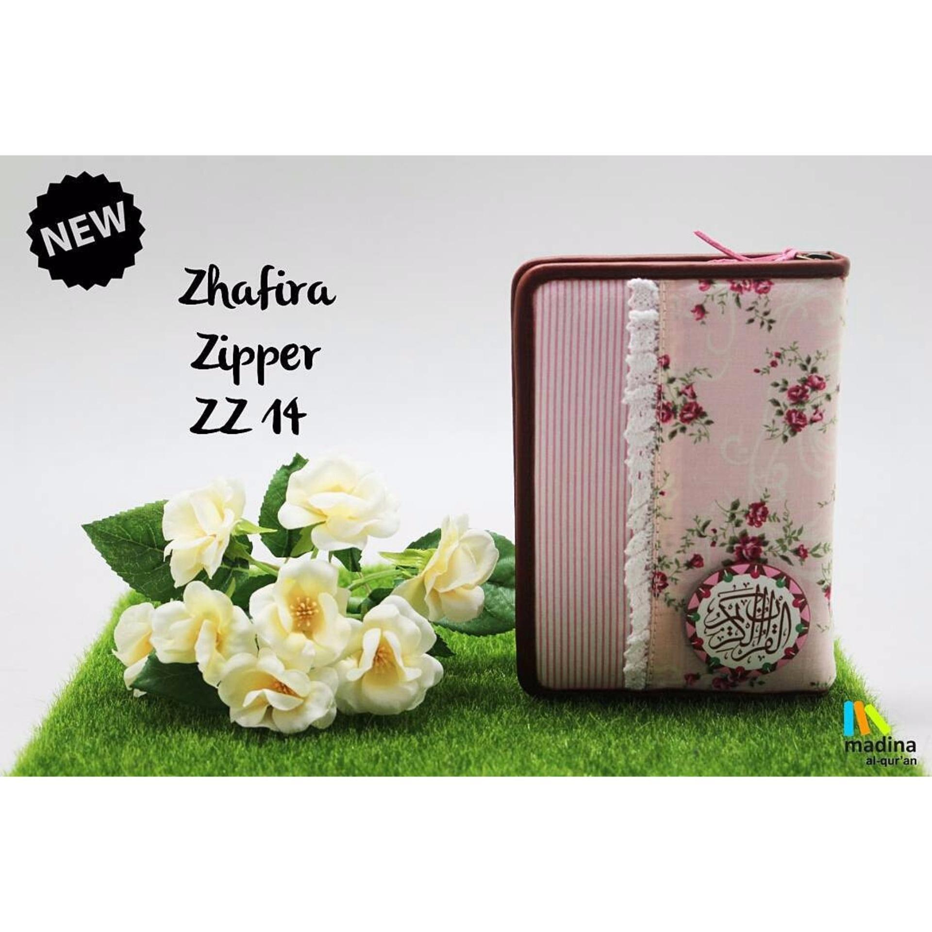 Al Quran Madina Zhafira Zipper Rainbow Zz 14 Daftar Harga Terkini Alquran Premium Zfr 64
