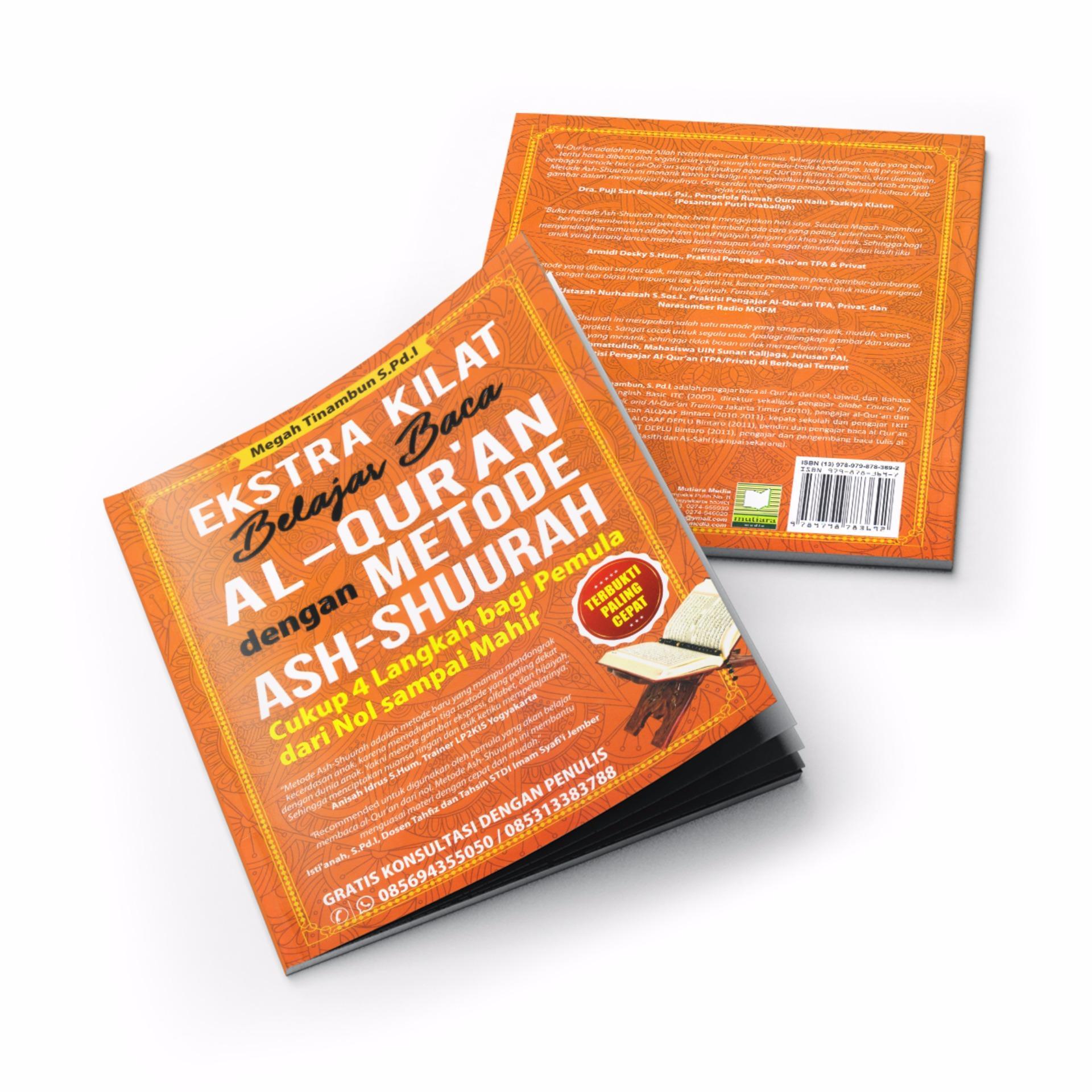 Buku Seru - Ekstra Kilat Belajar Baca Al-Qur'an dengan MetodeAsh-Shuurah