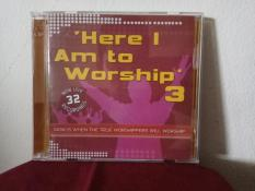 CD Lagu Kristen Here I Am To Worship Album 3 Dan 4