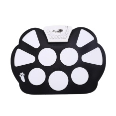 Cenita-Portable Carry Electronic Roll Up Hand Drum Pad Silicon Foldable Stick - intl