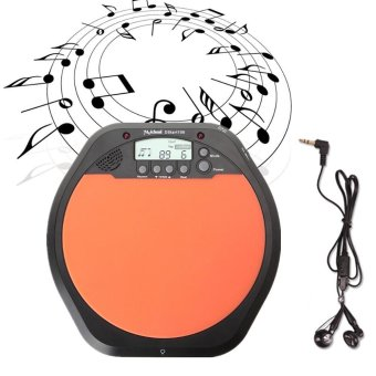 Digital Electric Electronic Drum Pad for Training Practice Metronome - intl