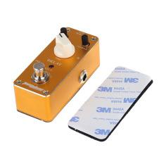 Efek Pedal gitar Aroma ADL-3 Mini tunda efek Pedal gitar elektrik dengan pita pengikat