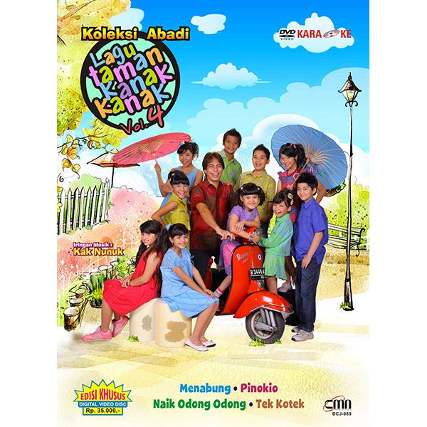 Gema Nada Pertiwi DVD Koleksi Abadi Lagu Taman Kanak-Kanak Vol. 4