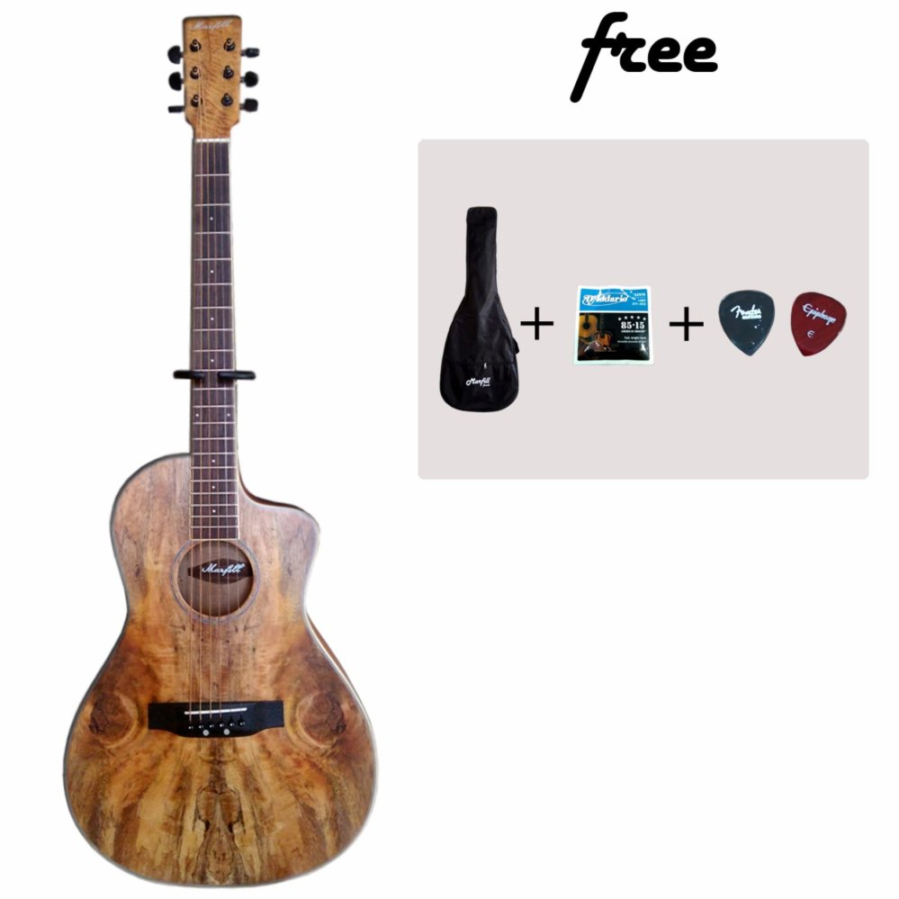 Cheap online Gitar Akustik Marfil Exotic Wood Original