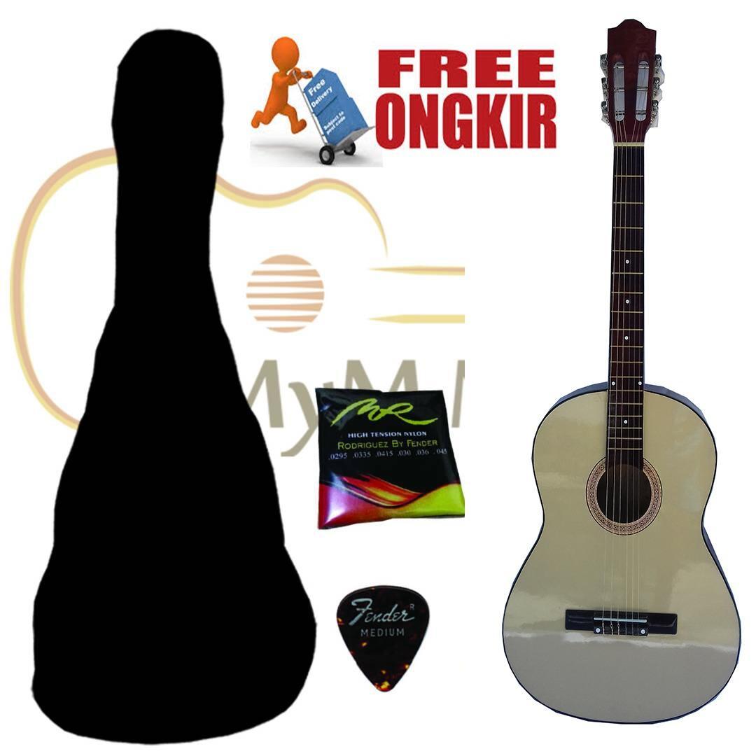 2 Buah Jamur Kepala Gitar Tali Pengikat Bagian Krom Tombol Kunci Strap Bass Bonus Pick Rock You S 1009b Sabuk Kelebihan Kancing Hitam