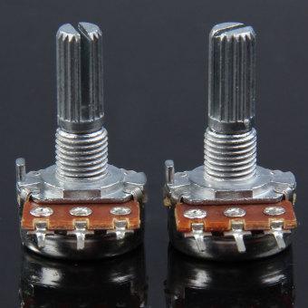 A250k 15 Mm Mini Pot Poros Potensiometer Nada Gitar Elektrik Set Source Gitar .