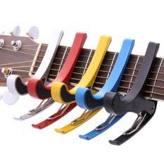 Gshop Capo Guitar Picks Capo For Tone Adjusting Quick Change Single-Handed Tune Trigger Multicolor
