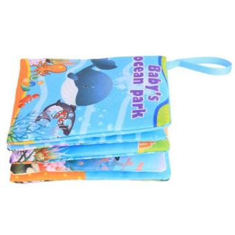 Hang-Qiao Colorful Baby Early Education Cloth Book Ocean ParkLearning Picture - 3