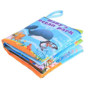 Hang-Qiao Colorful Baby Early Education Cloth Book Ocean ParkLearning Picture - 2