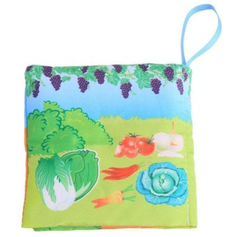 Hang-Qiao Colorful Baby Early Education Cloth Book Orchard LearningPicture - 2