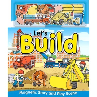Hellopandabooks - Let's Build Magnetic Story and Play Scene Book