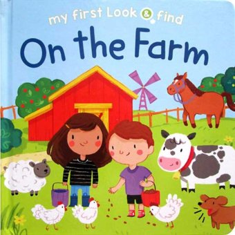 Hellopandabooks - My First Look & Find On the Farm Board Book