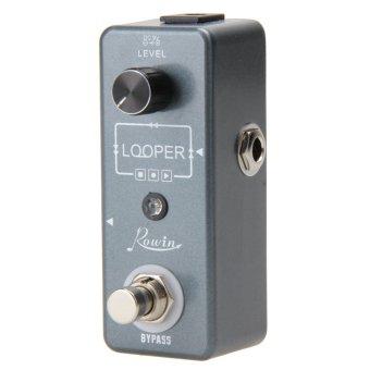 Looper effect pedal tidak terbatas overdub 10 menit dari perulangan