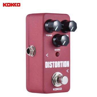 KOKKO FDS2 portabel Mini Pedal distorsi efek Pedal gitar - International
