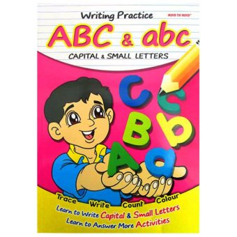 Harga Hellopandabooks - Writing Practice ABC & abc (Capital & Small Letters) - Trace, Write, Count, Colour