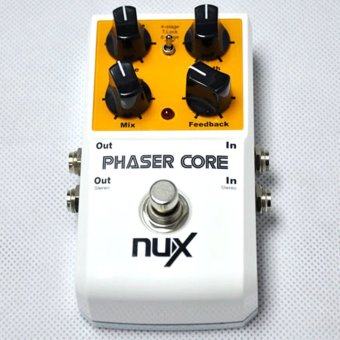 Harga NUX Phaser Core Phase Shifter Modulation Stomp Effect Pedal Tone Lock Preset Function True Bypass - intl
