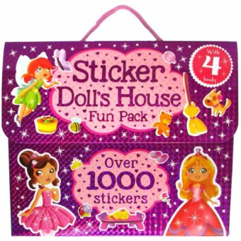 Harga Hellopandabooks - Sticker Doll's House Fun Pack with 4 books and over 1000 stickers