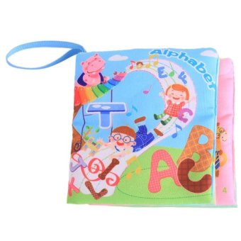 Harga LALANG Baby Educational Early Learning Cloth Book Alphabet Picture Cognition