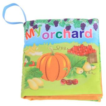 Harga LALANG Baby Educational Early Learning Cloth Book Orchard Picture Cognition