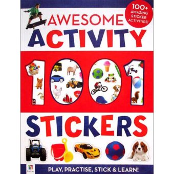 Harga Hellopandabooks - Awesome Activity 1001 Stickers Book