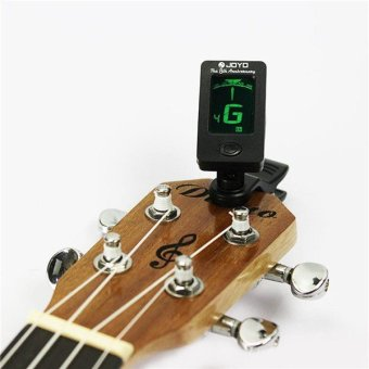 Harga JOYO gitar tuner ukulele dan bass Clip-on Digital Chromatic