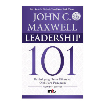 Harga MIC Publishing Buku Leadership 101 - John C. Maxwell