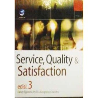 Harga Andi Publisher - Service, Quality & Satisfaction Edisi 3