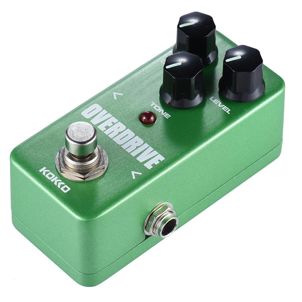 KOKKO FOD3 Mini Overdrive Pedal Portable Guitar Effect Pedal - intl .