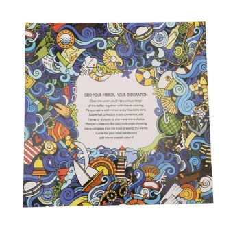 LALANG Secret Garden Wonderland Exploration Painting Coloring BookEnglish Edition 24 Pages - 2