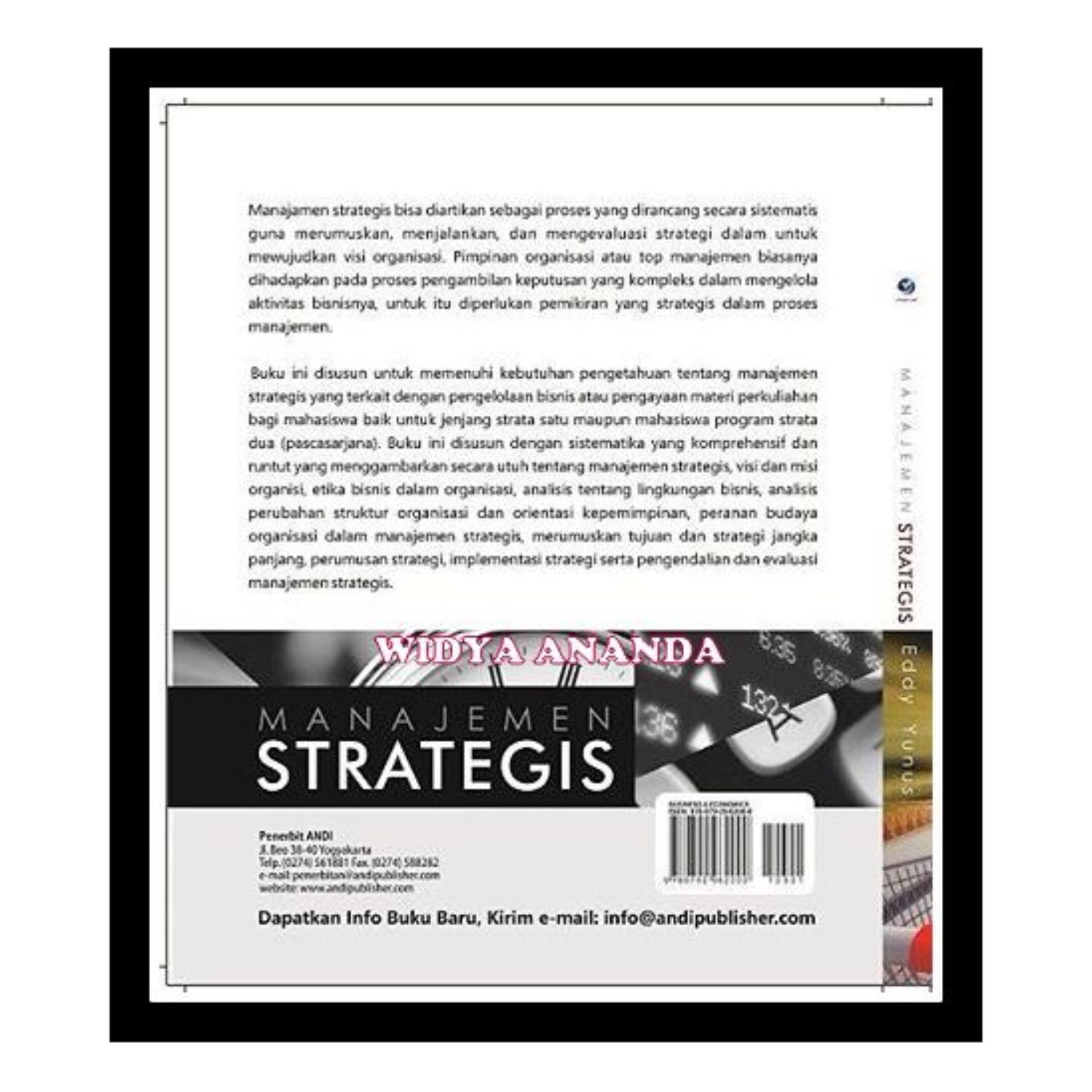 Manajemen Strategis; Manajemen Strategis .