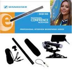 mic condensor kabel sinnheiser SKM-999 panjang telescopic profesional interview camcorder conected