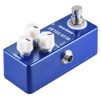 Mini Analog Delay Guitar Effect Pedal True Bypass Zinc-aluminium Alloy Body .