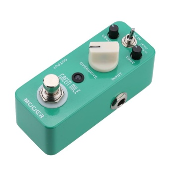 Mooer Green Mile Micro Mini Overdrive Electric Guitar Effect Pedal True Bypass-Intl