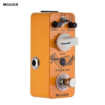 MOOER LIQUID Mini Digital Phaser Guitar Effect Pedal True Bypass Full Metal Shell-Intl