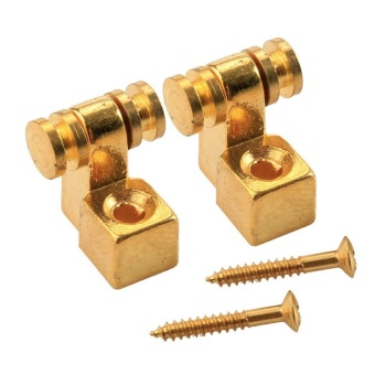 Musiclily Roller Guitar String Tree Guides Retainer for FenderStrat Stratocaster Tele Telecaster Electric Guitar, Gold (Pack of4) - intl