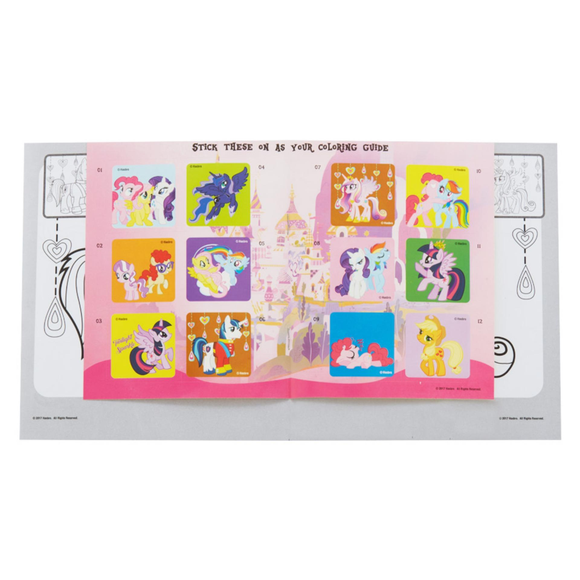 My Little Pony Coloring Book S All Wearher Friends