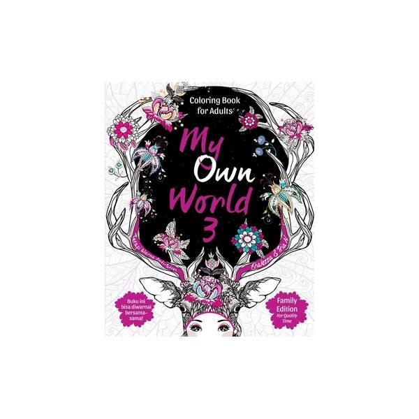 Cheap Online My Own World 3 Coloring Book For Adults Family Edition