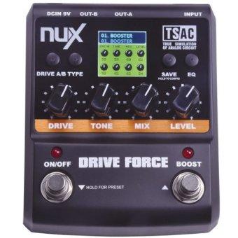 harga NUX berkendara memaksa pemodelan menginjak-injak Simulator efekPedal gitar 10 pemodelan Stompbox model Lazada.co.id