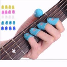 Pelindung Jari Silikon Untuk Memetik Senar Gitar 1 Set Isi 4pcs