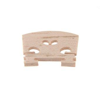 Penuh Ukuran 4/4 Jembatan Biola Maple 34 mm Dengan Tinggi 3 mm Tebalnya Indah Pengerjaan - 2