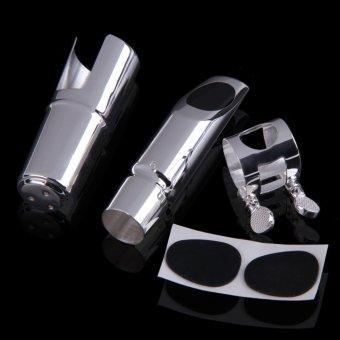 Perfect Metal Alto Saxophone Sax Mouthpiece Silver #6 New - 3